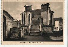 80768 CARTOLINA DI POMPEI TEMPIO DI FAIDE