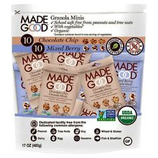 Made Good Minis Mixed Flavors Jumbo 20 pack 10 Chocolate Chip 10 Mixed Berry