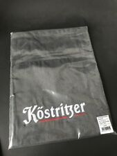 Köstritzer Kellner Schürze Anthrazit Bistro Grillschürze 110x80cm NEU OVP