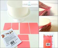 FLEXI Pastel Conjunto de 6 piezas Rosa suave para bordes afilados y un acabado perfecto