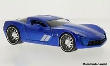 Chevrolet Corvette Stingray Concept metallic-blau/Dekor 2009 1:24 JADA