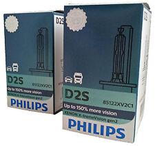 D2S PHILIPS X-tremeVision gen2 2x ampoules xénon +150% 85122XV2C1