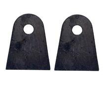PAIR 4 LINK MOUNTING FLAT TAB BRACKET AIR RIDE BAG SUSPENSION MOUNT HOT ROD MINI