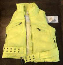 JET SET Extreme Gorsuch JSX Ski Girl's Sz 8 Neon Down Winter Ski Vest $178