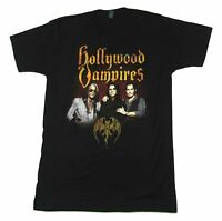 Hollywood Vampires Raise The Dead Tour Black T Shirt New Official Band Merch