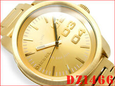 DIESEL MEN'S GOLD IN GOLD LUXURY DRESS STYLE WATCH DZ1466