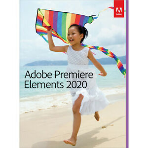 Adobe Premiere Elements 2020, DVD & Down load, [PC/Mac Disc] #65299421 NewSealed
