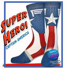 Men's Captain America Socks (NEW)
