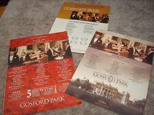 GOSFORD PARK 3 Oscar ads Robert Altman, Helen Mirren, Maggie Smith, Emily Watson