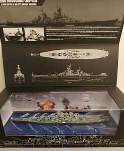 Forces Of Valor 1:700 Scale BB-63 Iowa-Class Battleship USN USS Missouri Model