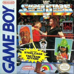 WWF Superstars 2 II Nintendo Game Boy