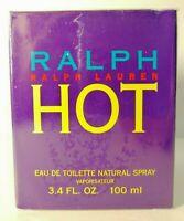 Ralph Lauren  Hot 3.4oz / 100ml Women's Eau de Toilette Discontinued HTF