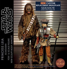 SIDESHOW Star Wars 1/6 CUSTOM PRINCESS LEIA BOUSHH Armour Not Hot Toys