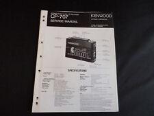 Original Service Manual Kenwood CP-707