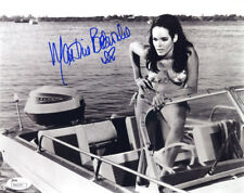 "(SSG) MARTINE BESWICK Signed 10X8 ""Bond Girl"" Photo with JSA (James Spence) COA"