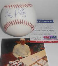 Jhonny Peralta St Louis Cardinals PSA DNA COA Autographed Signed MLB Baseball A