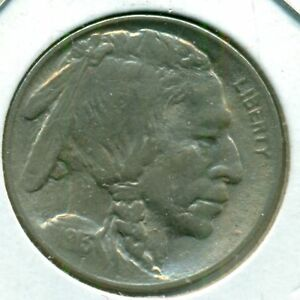 1913-P TYPE 1 BUFFALO NICKEL, CHOICE BRILLIANT UNCIRCULATED, GREAT PRICE!