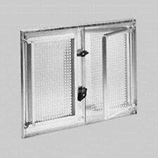 Stahlkellerfenster zweifl, verzinkt,500 mm x 500 mm, 5mm ESG-Glas m. Befestieg