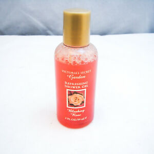Victoria's Secret Garden BLUSHING ROSE Refreshing Shower Gel 2 oz 59 ml NEW NWOB