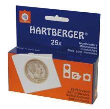 Lindner 8322275 HARTBERGER® Münzrähmchen-100er-Packung