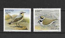ICELAND 2001  BIRDS set of 2  MINT NH