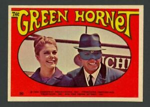 The Green Hornet 1966 Donruss Green Hornet Stickers #30 - Mint
