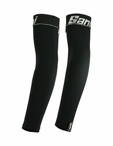Santini NuHot Cycling Arm Warmers in Black