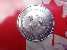 2016 Canadian 3/4 oz. Howling Wolf $2 silver coins .9999 fine silver RCM