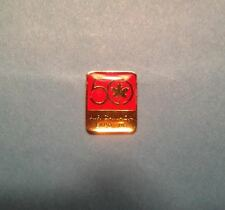 Rare 1980's Air Canada 50th Annivesary Expo 86 Vancouver Jacket Hat Lapel Pin