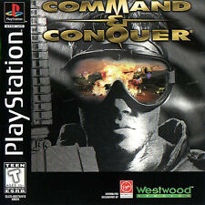Command & Conquer PlayStation 1 Game 1996/Manual/PS1/Vintage/Original/Video/Sony