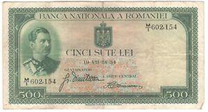 Romania 500 Lei 1934 P-36