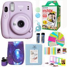 Fujifilm Instax Mini 11 Camera Purple + 20 Fuji Film Deluxe Accessory Bundle