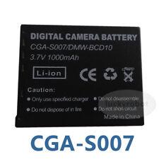 3.7V Battery For Panasonic Lumix DMC-TZ3,DMC-TZ2 Series CGA-S007,CGA-S007A/1B,