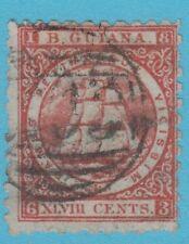 BRITISH GUIANA 69 NO HIDDEN FAULTS VERY FINE !