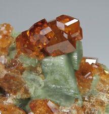GARNET crystals * Belvidere Mountain Quarries * Vermont * Ex. Charles Trantham