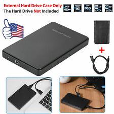 USB3.0 2TB Hi-Speed External Hard Drives Portable Desktop Mobile Hard Disk Case