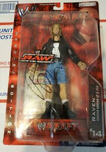 WWE Draft Figure # 14 Raw Raven Signed Autographed