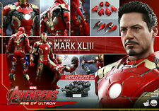 1/4 Hot Toys Ironman 3 Mark 43 QS005 Iron Man Mark XLIII Mint Best Price New