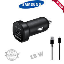 Caricabatterie USB per Auto Samsung 222170 Nero da Spagna