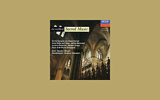 World of Sacred Music (1993) a DECCA cd brahms bach berlioz handel etc.