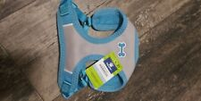 (S) Top Paw Comfort Harness Blue Gray With Dog Bone Small #37