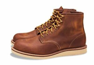 """RED WING 2950 6"""" Boot Copper Rough & Tough Leather SIZE 11 USA Made"""