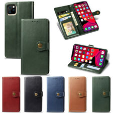 For iPhone 11 Pro Max XR XS 6S 7 8 Plus Leather Wallet Case Card Slot Flip Cover