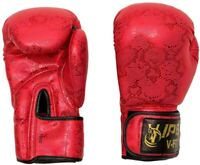 Viper Women Leather Boxing Gloves Sparring Gym Girls MMA Thai Training