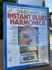 Huang Silvertone Deluxe Harmonica David Harp's Instant Blues Kit Cassette