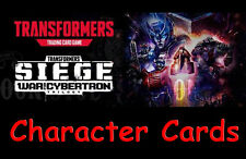 Transformers War for Cybertron  TCG Character Cards - Wave 3