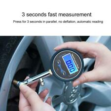 LCD Digital Tire Air Pressure Gauge 0-200PSI Motorcycle Truck Car Tyre Tester