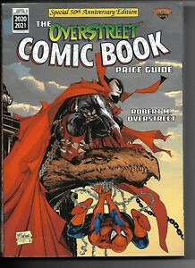 2020-21 OVERSTREET COMIC BOOK PRICE GUIDE #50 - SPAWN SPIDER-MAN MCFARLANE COVER