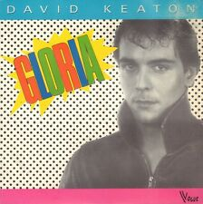 "DAVID KEATON ‎– Gloria (1983 DISCO VINYL SINGLE 7"" FRANCE)"