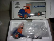 1953 ROADWAY EXPRESS TRACTOR TRAILER DIECAST TRUCK FORD C-600 NEW IN BOX